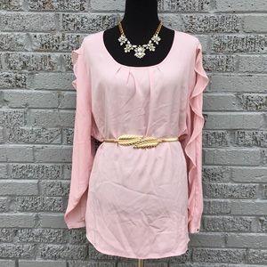 Lane Bryant pink top size 22/24